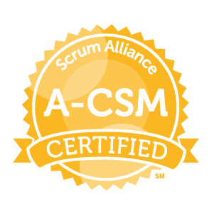 A-CSM badge
