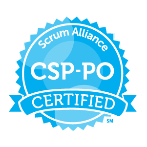 Certified Scrum Professional-Product Owner badge