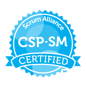 Certified Scrum Professional-ScrumMaster badge