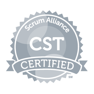 Certified Scrum Trainer badge