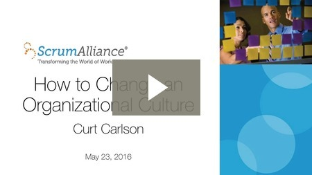 Webinar: How to Change an Organizational Culture
