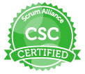Certified Scrum Coach logo