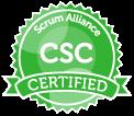 Certified Scrum Coach logo